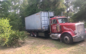 hauling container transportation Md PA